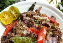 Resepi Pekasam Daging Jeruk