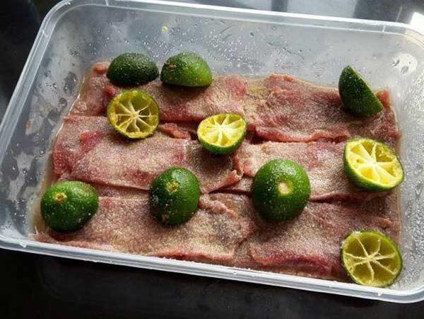 Resepi Pekasam Daging